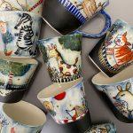 Collection Midnight Garden Animal Cups